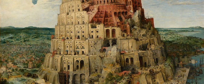 The hidden lessons of the Tower of Babel and the Babel Tower effect