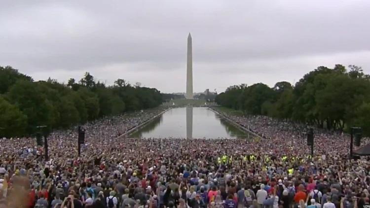 Franklin Graham's inaugural Prayer March