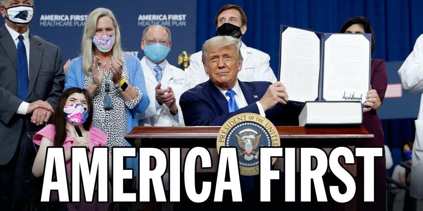 Trump America First Healthcare Plan