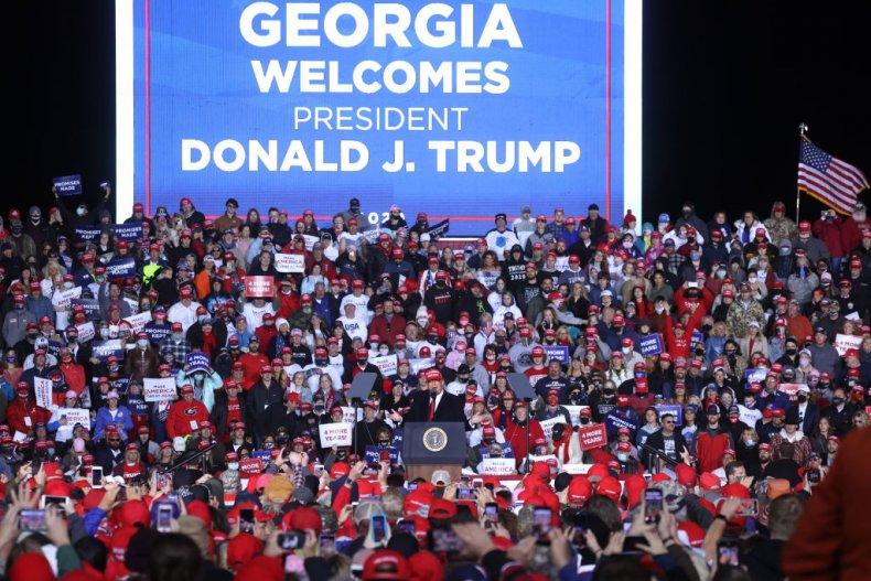 Georgia welcomes President Trump again