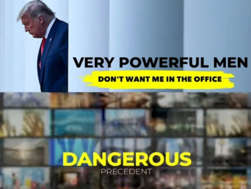Very powerful men don't want me in Office; Dagerous precedent, Media Polling