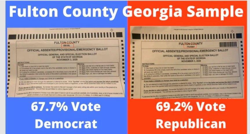 georgia-ballots-gop-dem_GATEWAYPUNDIT