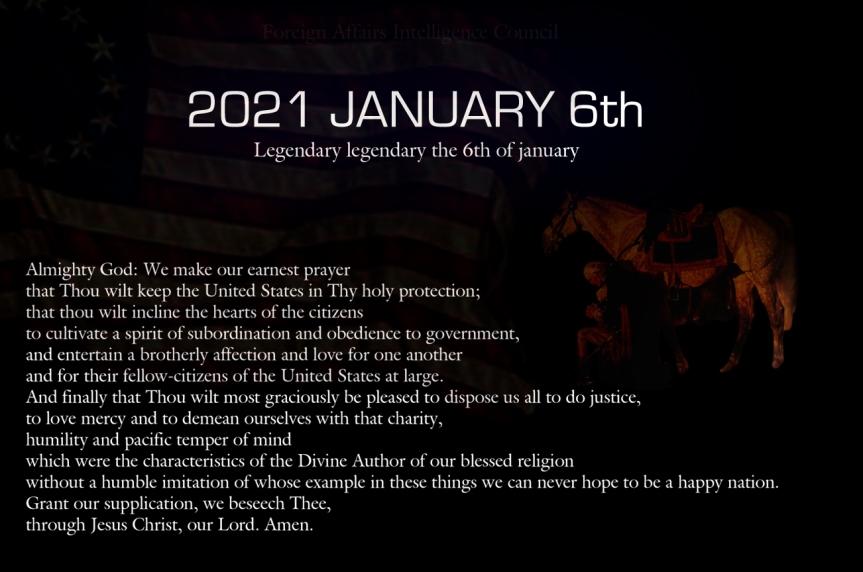 Washington prayer for America Prayer for our Freedom