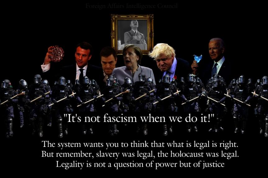 It is not fascism when we do it