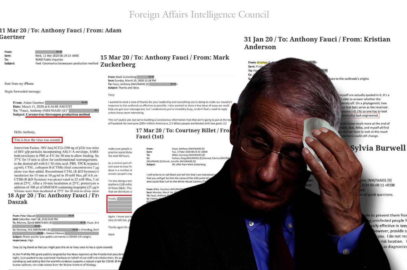 FAUCI emails scandal